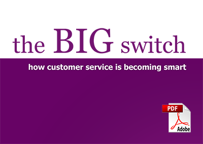 the big switch One big switch featured on a current affair a little while ago in fact, they've been popping up in the media all over the place although they have worked on 'the big bank switch' in the past, one big switch's current focus is high electricity bills please note: we are not one big switch this is an article.