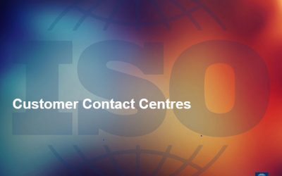 Update of ISO 18295 Customer Contact Centres