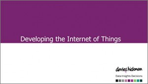 Developing the Internet of Things
