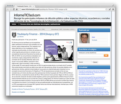 Youbiquity Finance – 2014 (Avaya y BT)