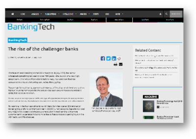 The rise of the challenger banks