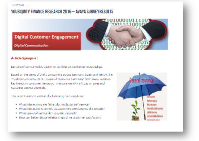 Youbiquity Finance 2016 – Avaya Survey Results