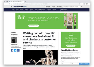 Waiting on hold: how UK consumers feel about AI and chatbots in customer service