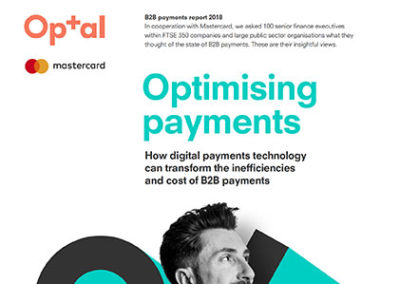 Optal and Mastercard: Optimising B2B Payments report