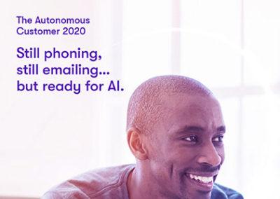 BT Autonomous Customer 2020 report